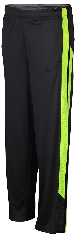 NIKE Boys Dri-Fit Track Pants Training Running Grey Volt 823907 061