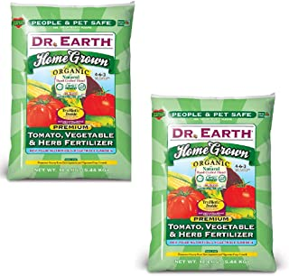 product image for Dr. Earth Home Grown Tomato, Vegetable & Herb Fertilizer 2 Pack (24 LBS.)