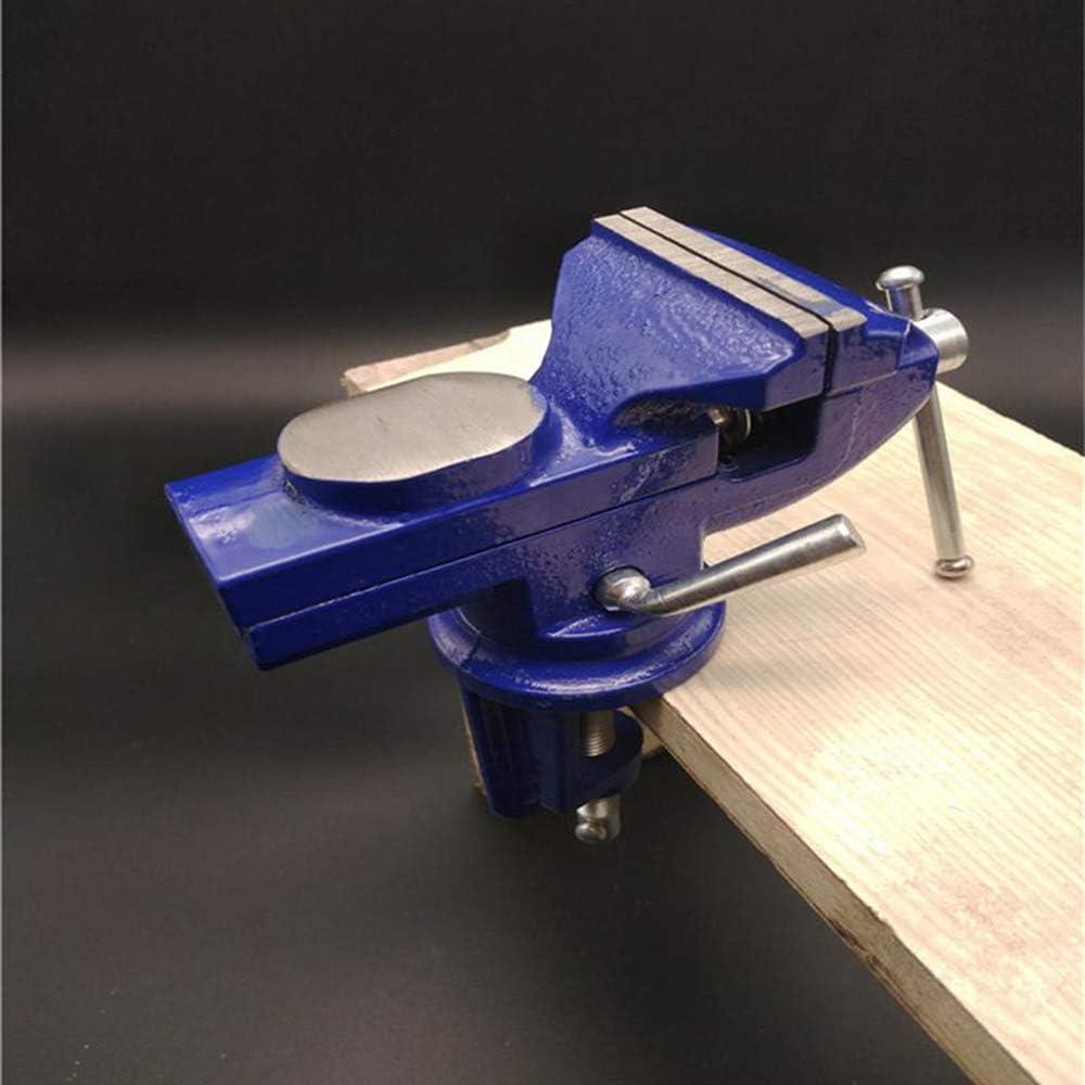 Mesa tornillo banco,mini abrazadera tornillo mesa de trabajo mordazas tornillo de banco Clamp 360 grados Rotaci/ón Table Vise