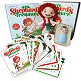 SleepingBaby The Shepherd's Treasure Book/Doll Set and Advent Cards