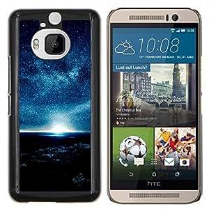 """Be-Star Único Patrón Plástico Duro Fundas Cover Cubre Hard Case Cover Para HTC One M9+ / M9 Plus (Not M9) ( Una noche llena de estrellas"""" )"""