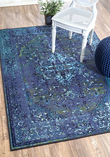 Traditional Vintage Inspired Overdyed Fancy Runner Area Rug