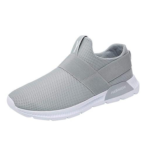 QUICKLYLY Zapatillas Hombres/Mujer Deporte Running Zapatos Correr Gimnasio Sneakers Padel Casual Deportivos Gimnasia Seguridad Puntera Trabajo Calzado ...