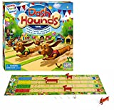 dash board game - International Playthings Game Zone Dash Hounds Board Game - A Fast Paced Dog Race With a Twist - First Tail to Cross the Finish Line Wins!  Ages 4+