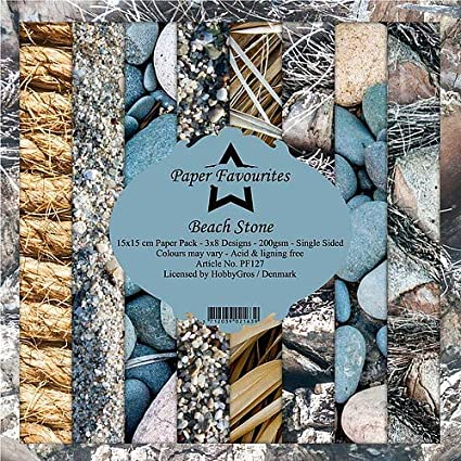 Dixi Craft Paper Favourites Patina 15cm x 15cm Paper Pad