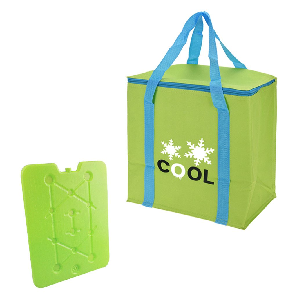 Guaranteed4Less Insulated Cooler Bag Ice Pack Family Food Drinks Beach Cooling Picnic Festival (Green) 602318_GREEN