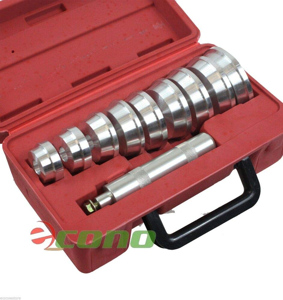 Auto Bearing Race'' Seal Driver Master Set Wheel Axle Bearings Puller Install E34271