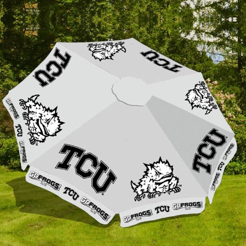 TCU 9ft Market/Patio Umbrella (Team Outdoor Patio Market Umbrella)