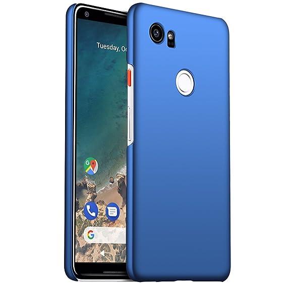 check out e6ff6 43bf7 ORNARTO Google Pixel 2 XL Case,2XL[Basic Series] Thin Fit Shell Premium  Hard Plastic Matte Finish Non Slip Full Protective Anti-Scratch Cover Cases  ...