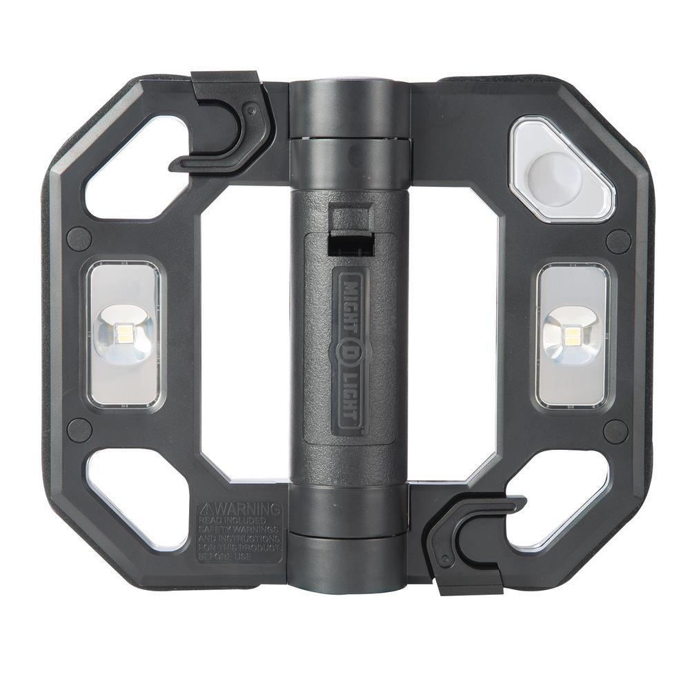 All-Pro LED125B Mini LED Folding Worklight, Black