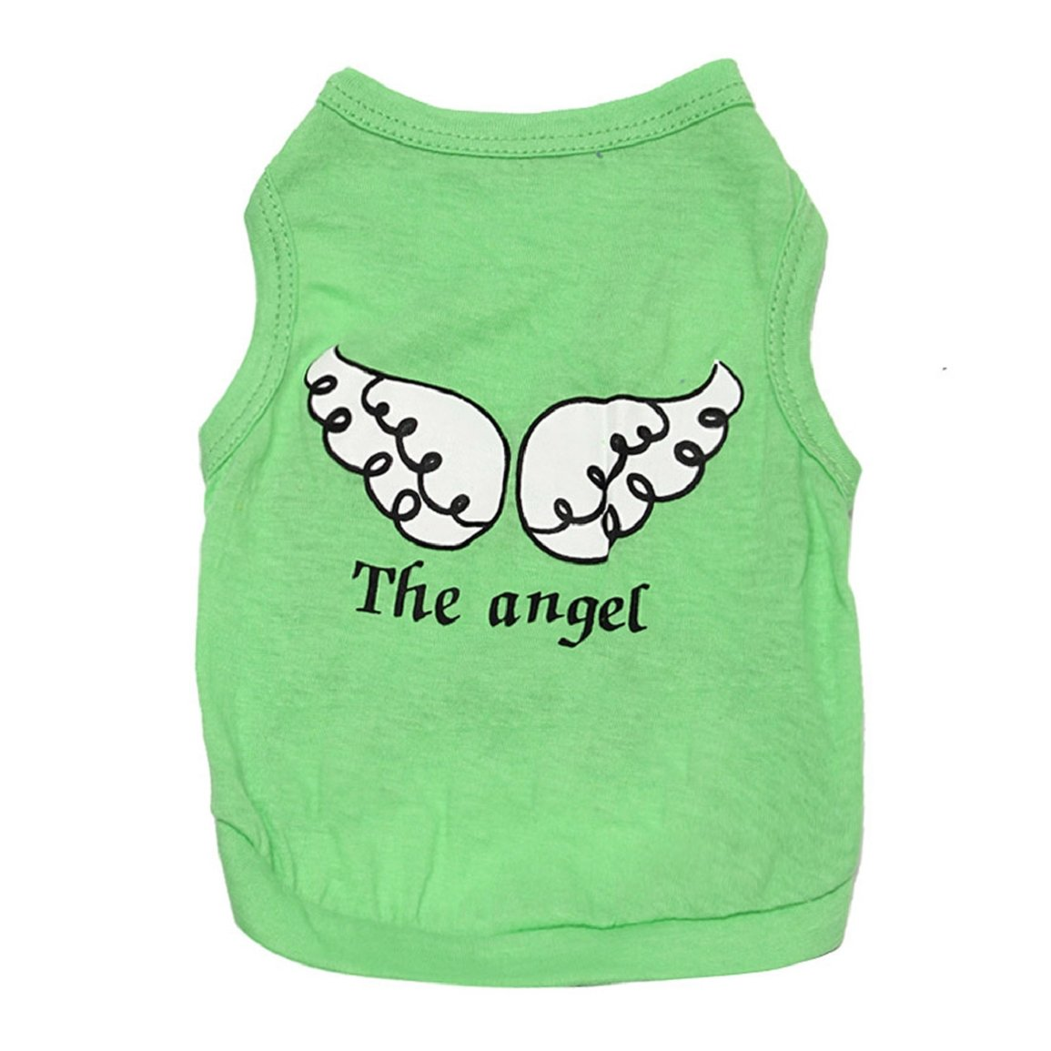 M, Green Changeshopping Summer Pet Puppy Small Dog Cat Pet Clothes Vest Shirt Wing Apparel New