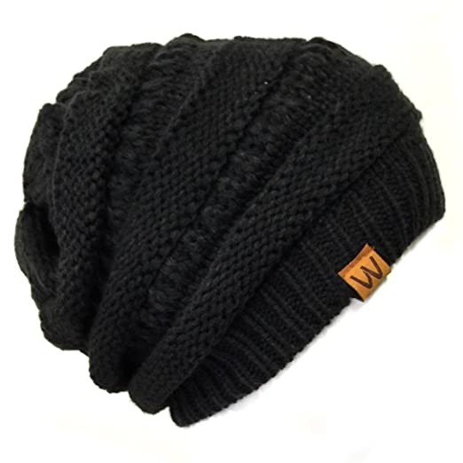 9e9db11efc4 Amazon.com  Wrapables Slouchy Winter Beanie Cap Hat