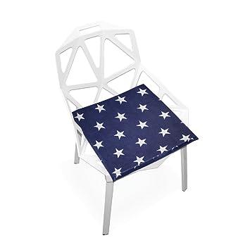 Amazon.com: PLAO - Cojín para asiento, diseño de estrella ...