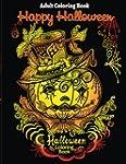 Adult Coloring Book: Halloween Colori...