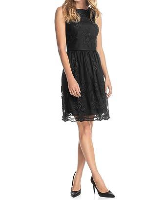 aee00d0ffae ESPRIT Damen A-Linie Kleid mit floraler Stickerei
