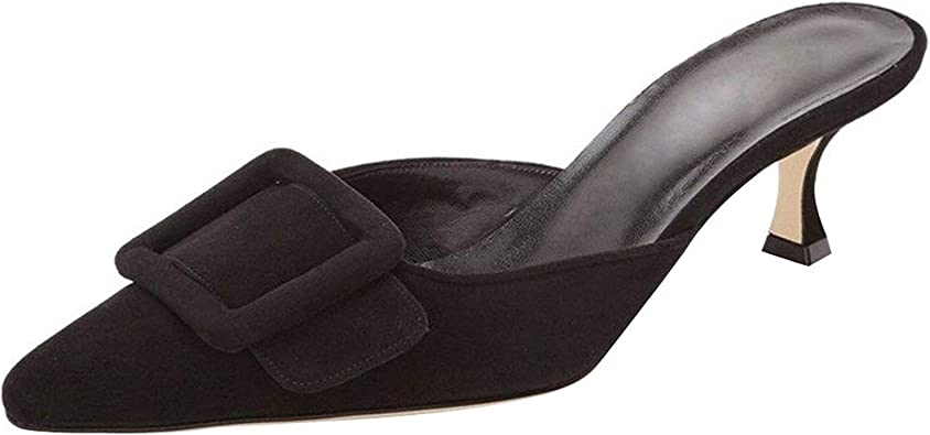 Amazon.com | Fericzot Mule Slippers for