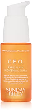Sunday Riley C.E.O. Rapid Flash Brightening Serum, 1.0 Fl Oz by Sunday Riley