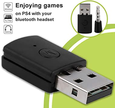 Amazon Com Yanbirdfx Bluetooth 4 0 Dongle 3 5mm Headphone Usb 2 0 Adapter Receiver For Ps4 Controller Black Electronics