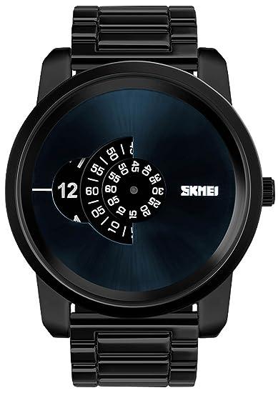 carlien Hombres Relojes lujo negocio cuarzo relojes Casual 30 m resistente al agua reloj militar de