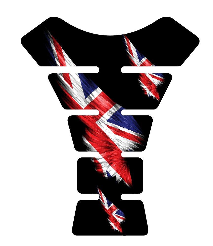 British Great Britain Wing Sportbike Gel Tank Pad tankpad Protector Decal
