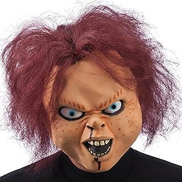 Máscara De Chucky – Adulto – Talla única – Disfraz de Halloween – 155
