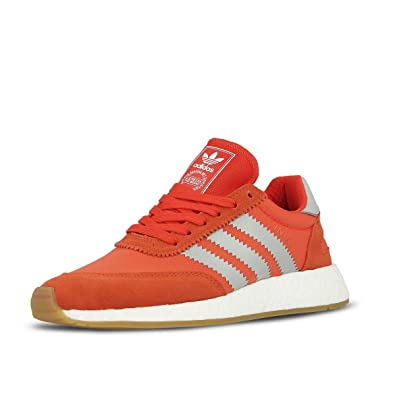 Iniki Runner Womens in Energy/Clear Onyx by Adidas, 5