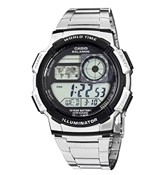 Casio World Timer Gents Multi Function Bracelet Watch