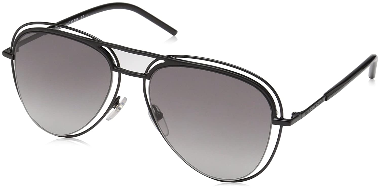 Marc Jacobs Unisex Adults 7/S VK MGF 54 Sunglasses, (Black/Grey Sf) MARC 7/S VK