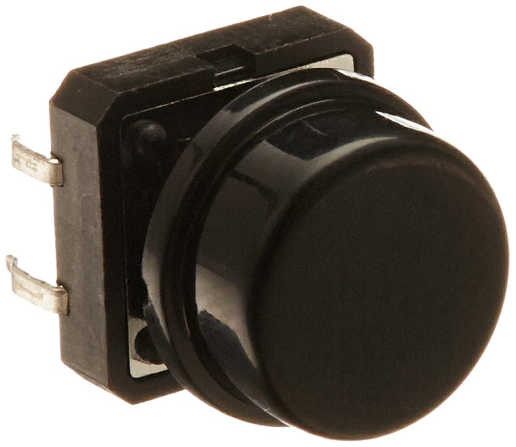 Uxcell 4-Pin DIP Momentary Tactile Push Button Switch, 12 x 12 x 15mm