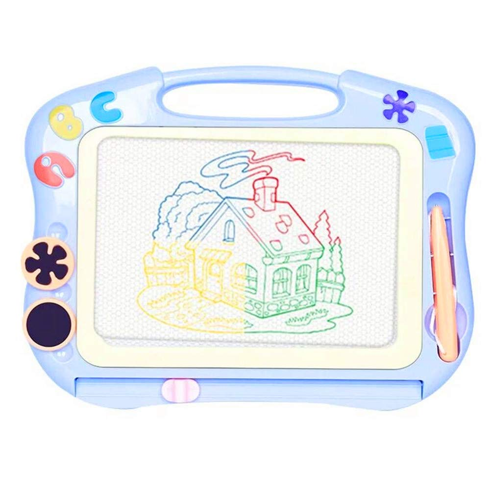 coolbuy 11.8 Travel Size Magnetic Doodle Board /& Water Doodle Mat for Kids Drawing Pad Educational Learning Toy for Kids /& Toddlers