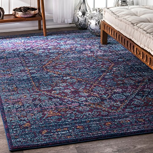 nuLOOM Rima Medallion Area Rug, 5 x 7 5 , Purple