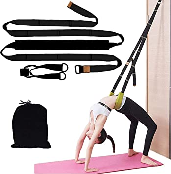 Amazon.com : Yoga Waist Back Stretch Band - Door Flexibility ...