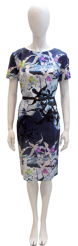 Kleid, Barbara Schwarzer, 2192105, gemustert