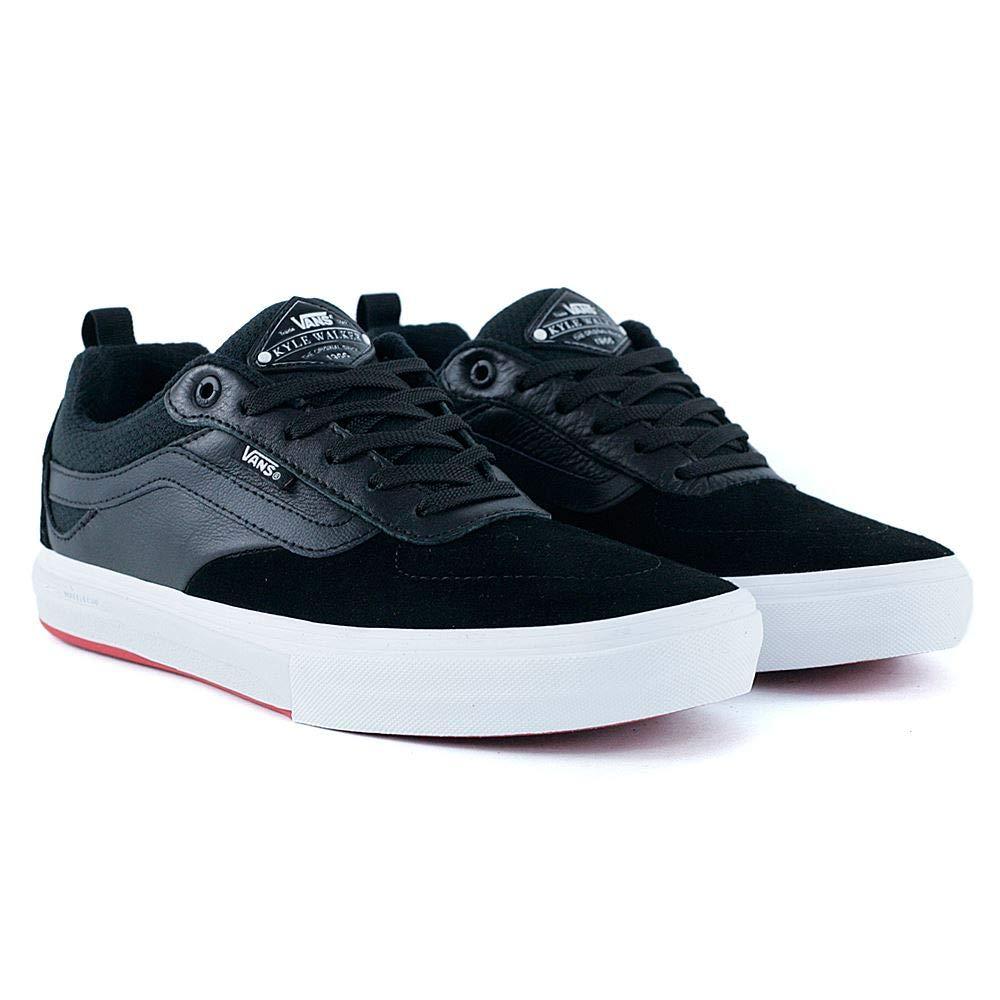 ad0c9d4411172f Vans Kyle Walker Pro Black Red Skateboarding Suede Leather Canvas Shoes (US  D 8)