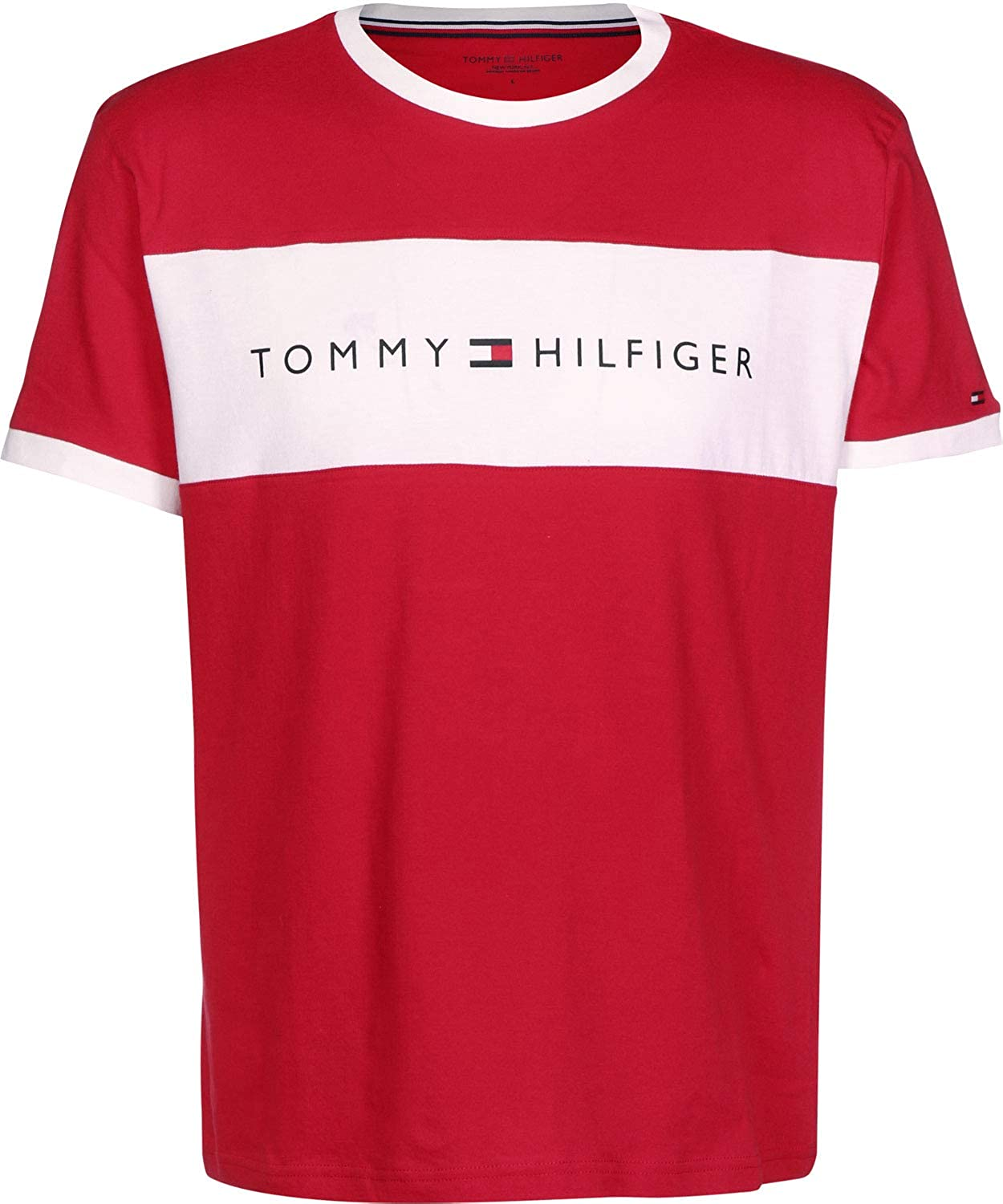 868e0603d85e Tommy Hilfiger Men s Flag Graphic T-Shirt