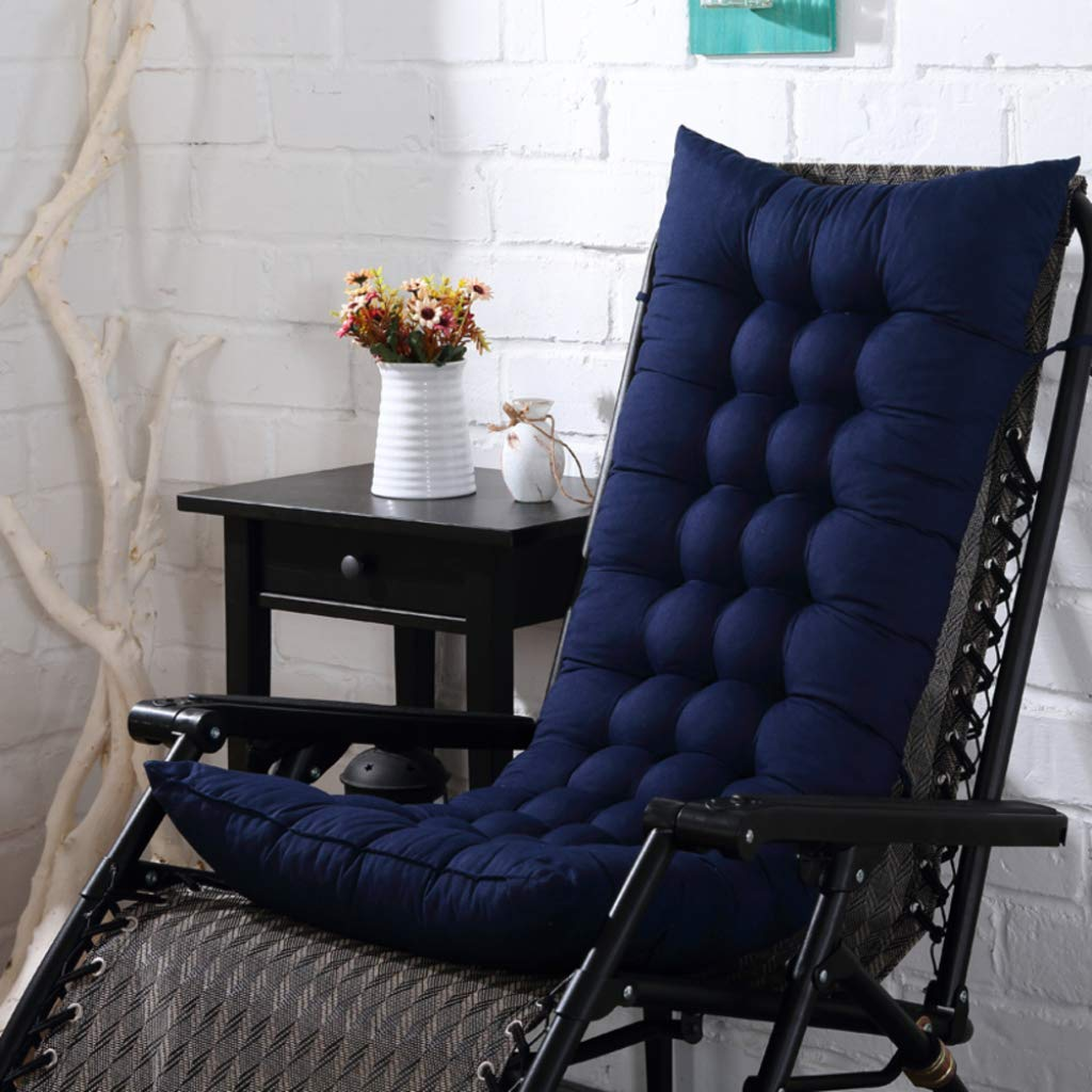 LE Cuscino per sedie a dondolo Sedia pieghevole per siesta Cuscino per sedie Double sided Poltrona imbottita Cuscino per sedie in bambù Cuscino universale per divano, N_110*40cm
