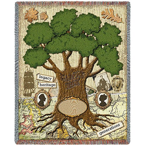 Family Tree Throw (Pure Country the Family Blanket Tapestry Throw)
