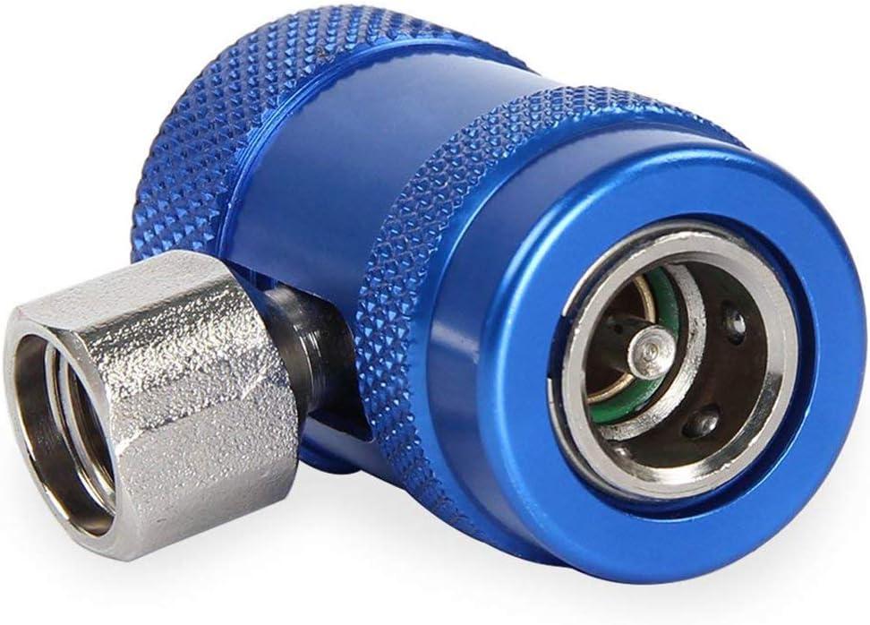 PQZATX Auto Auto AC Alto//Basso Lato R1234yf Rapido accoppiatori Kit di conversione con accoppiatori manuali
