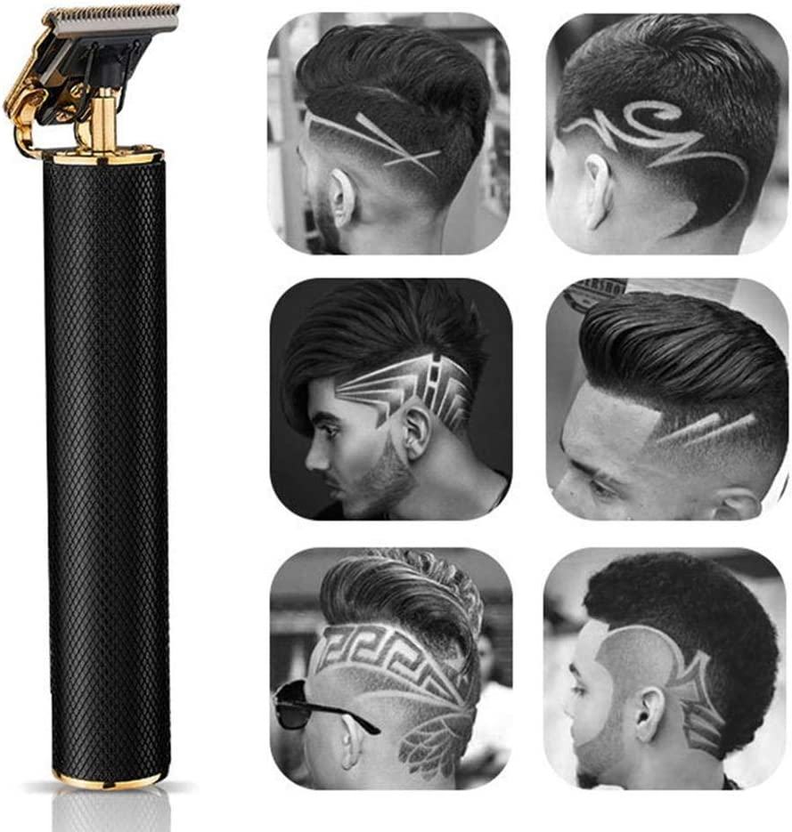 Amazon Com Gift Box Hair Clipper T9 Hair Trimmer Clipper Beard Trimmer Hair Clippers Kit Usb Rechargeable Electric Trimmer For Men Women Home Kitchen