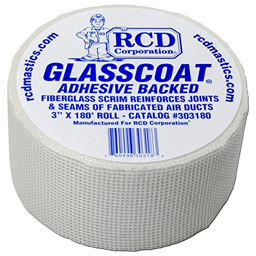 Glasscoat Adhesive-Backed Fiberglass Mesh 3