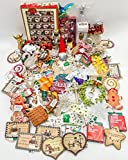 JZ Bundles Mega Set - Best of Christmas Ornaments - Kurt Adler - 76-Piece Bundle - A Bundle of Christmas Ornaments Great Gift