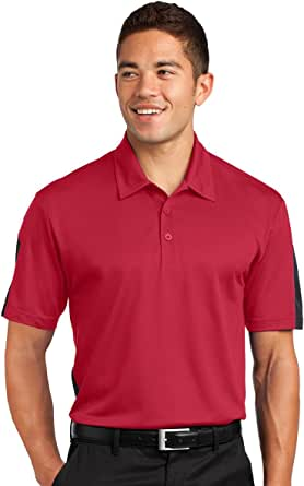 Sport-Tek Mens Snag Resistant Sport-Wick Pocket Polo Shirt/_True Navy/_XXXX-Large