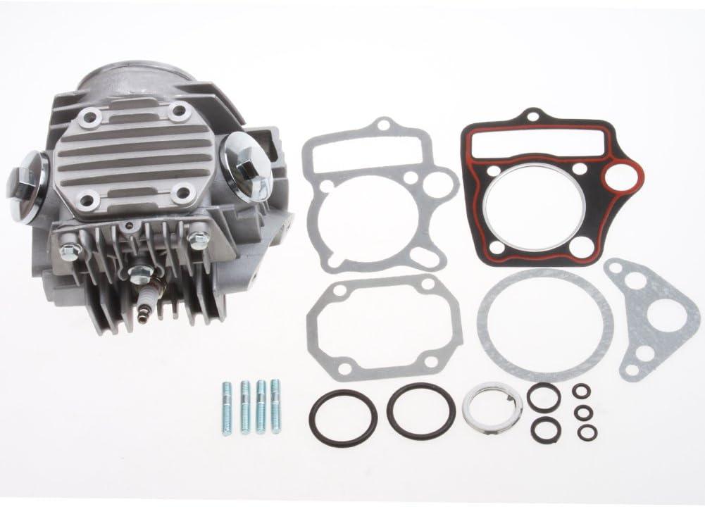 GOOFIT 47mm Completed Cylinder Head for 4 Stroke 70cc Engine for ATV Go Kart Dirt Bike