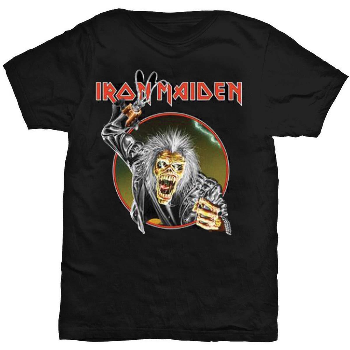Iron Maiden S Eddie Hook Tshirt Black