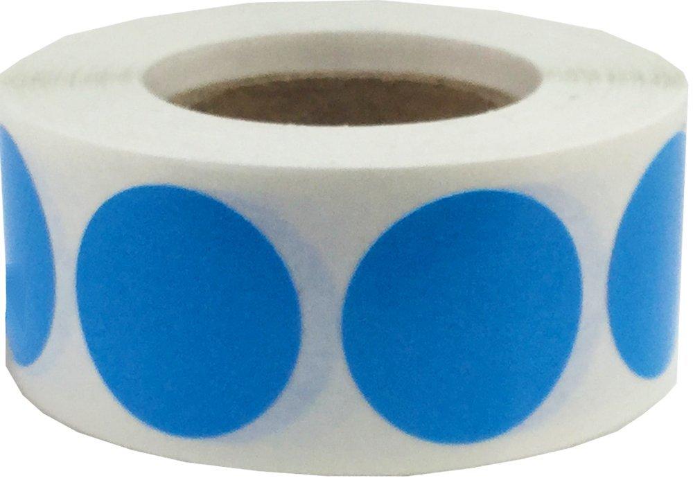 19 mm 3//4 di Pollice Rotondo 500 Etichette su Rotolo Ologramma Giallo Cerchio Punto Adesivi