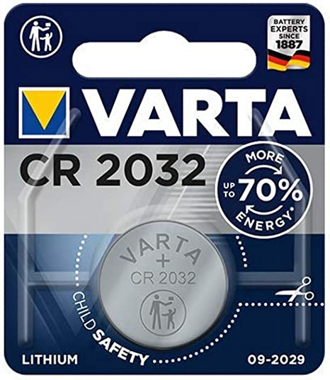 Varta Batterie CR2032SLF Knopfzelle