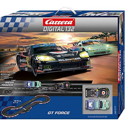 carrera digital 132  : Carrera Digital 132 GT Force Playset: Toys & Games