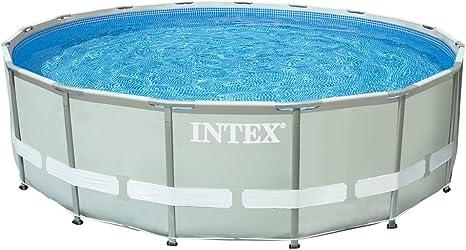 Intex Ultra Frame - Piscina desmontable, 488 x 122 cm y con ...