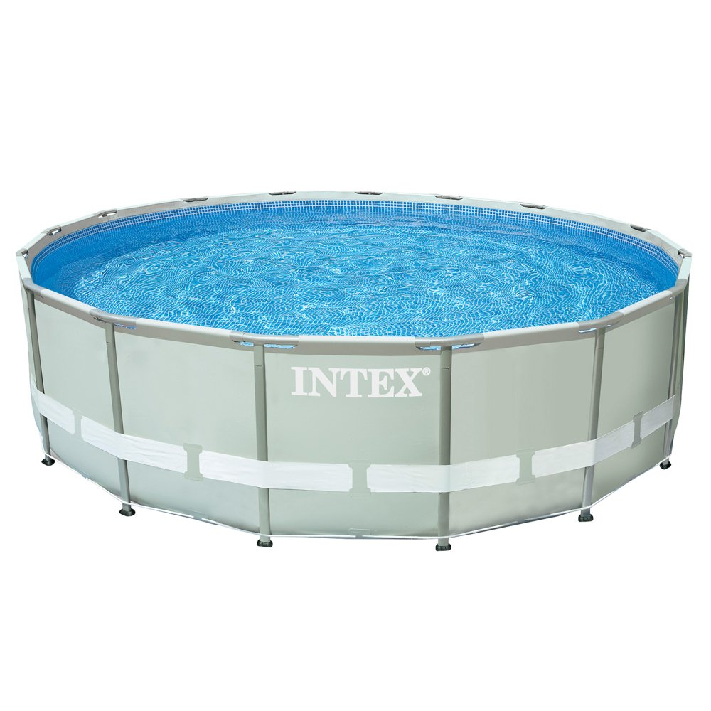 Intex - Piscina Desmontable Ultra Frame 488x122 cm - 19.156 l ...
