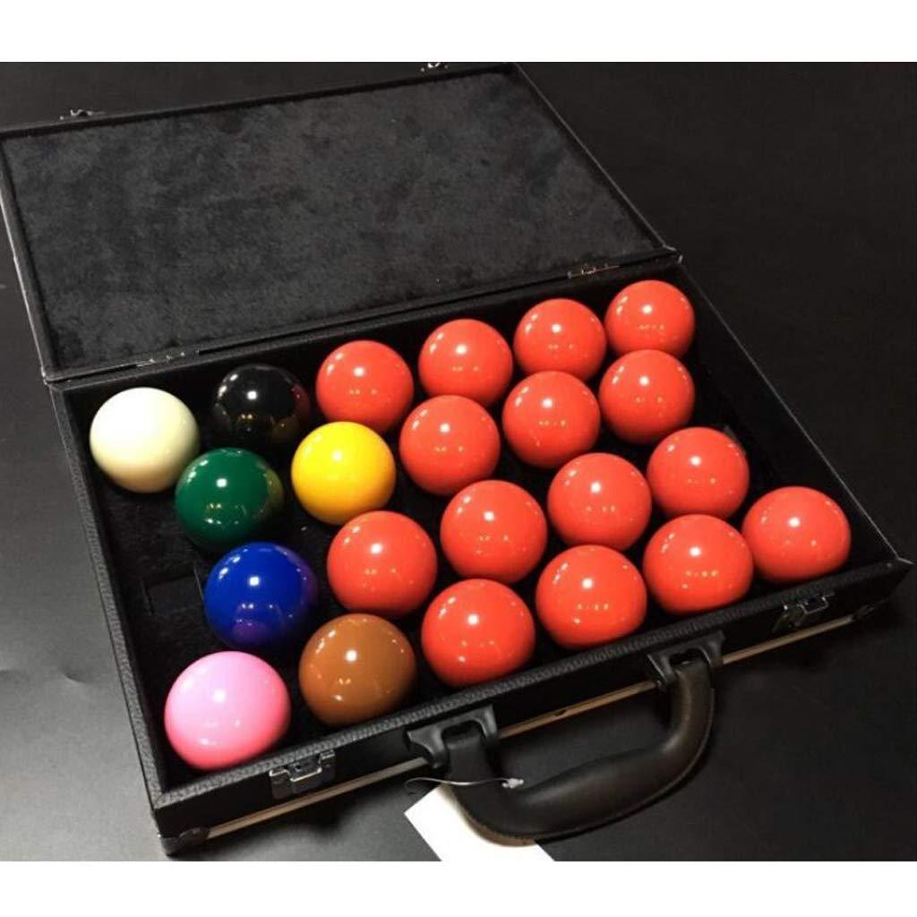 CUTICATE Robuster Snooker Ball Tragetasche Pool Queues Snooker Balls Aufbewahrungsbox Koffer